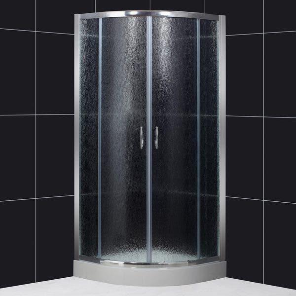 Shop Dreamline Sector 31x31x73 Rain Glass Shower Enclosure