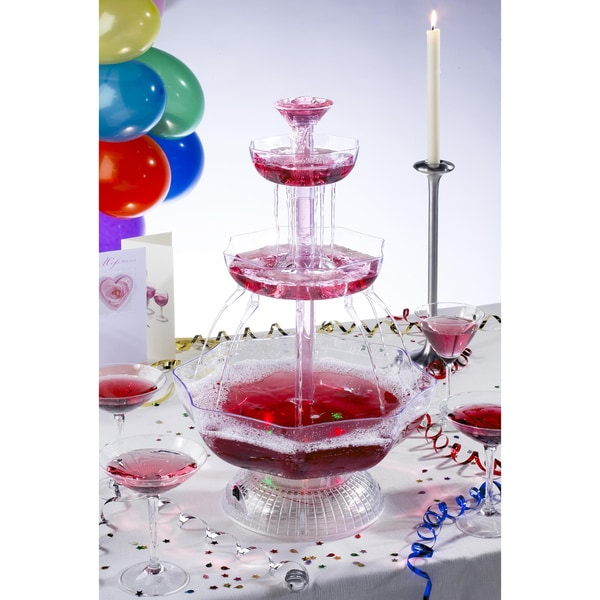 Uzo1 Lighted Party Beverage Fountain