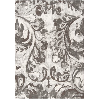 Shankiko Damask Print Rug (5'3 x 7'6)