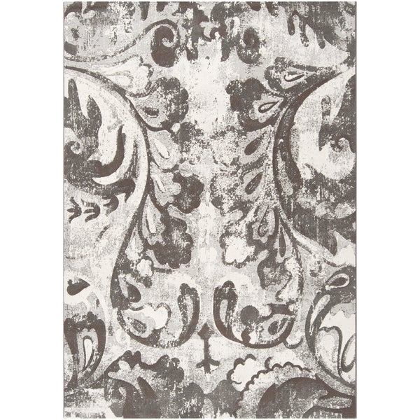 Shankiko Damask Print Area Rug - 5'3 x 7'6