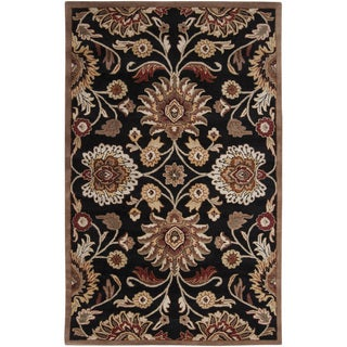 Hand-Tufted Silverton Floral Wool Area Rug - 2' x 3'