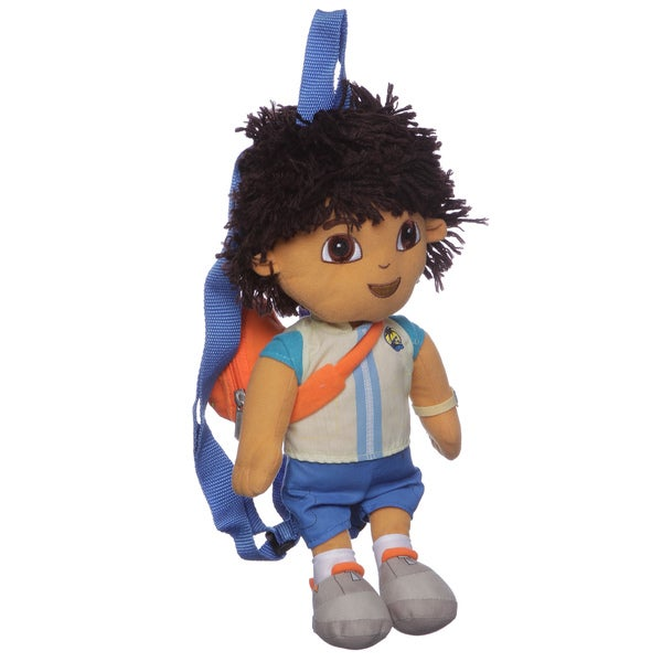 Nickelodeon Dora The Explorer 'Diego' Character Coin Pouch Kid's Backpack
