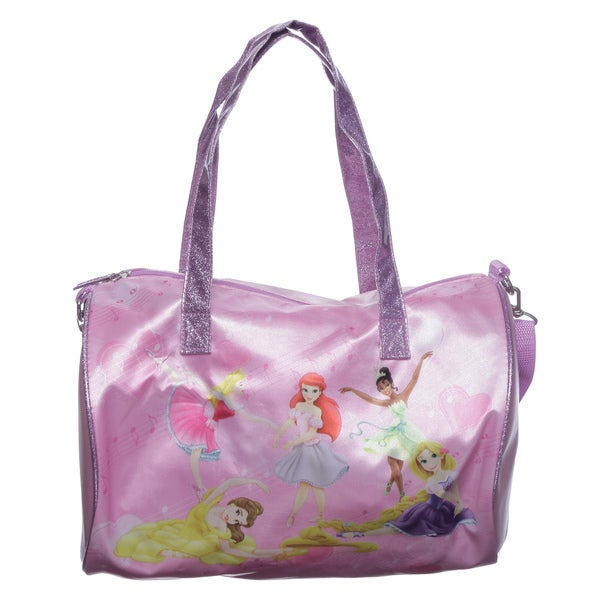 Disney Pink Princess Duffel Bag
