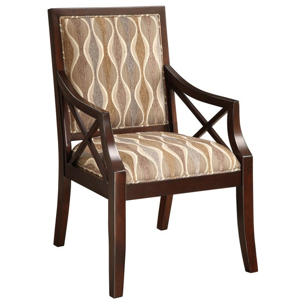 Creek Classics Cowie Espresso Finish Accent Chair