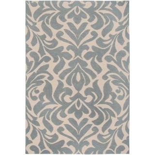 Hand-woven Canyon Wool Rug (2' x 3')