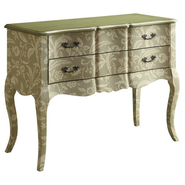 Creek Classics Floral Colony Green 2-drawer Console Table