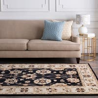 Hand-tufted Sanger Wool Area Rug - 2' x 4' hearth