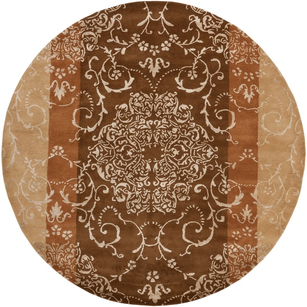 Hand-tufted Irvington Wool Rug (8' Round)