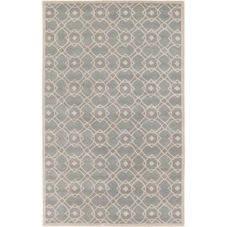 Hand-tufted Lindor New Zealand Wool Rug (2' x 3')