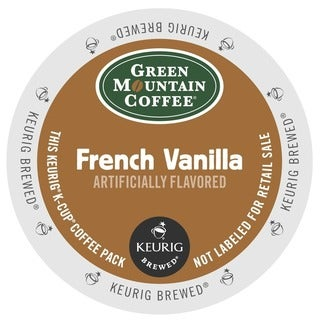 Green Mountain Coffee French Vanilla K-Cups for Keurig Brewers