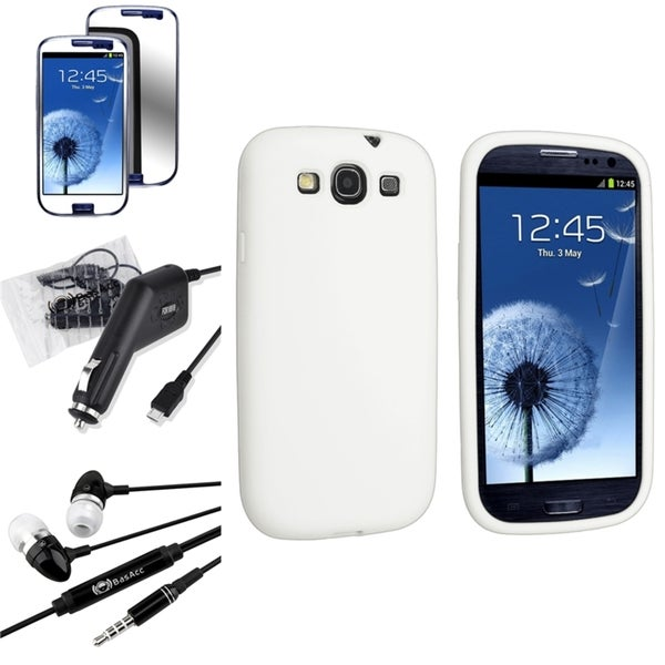 BasAcc Case/ Screen Protector/ Headset for Samsung Galaxy S3