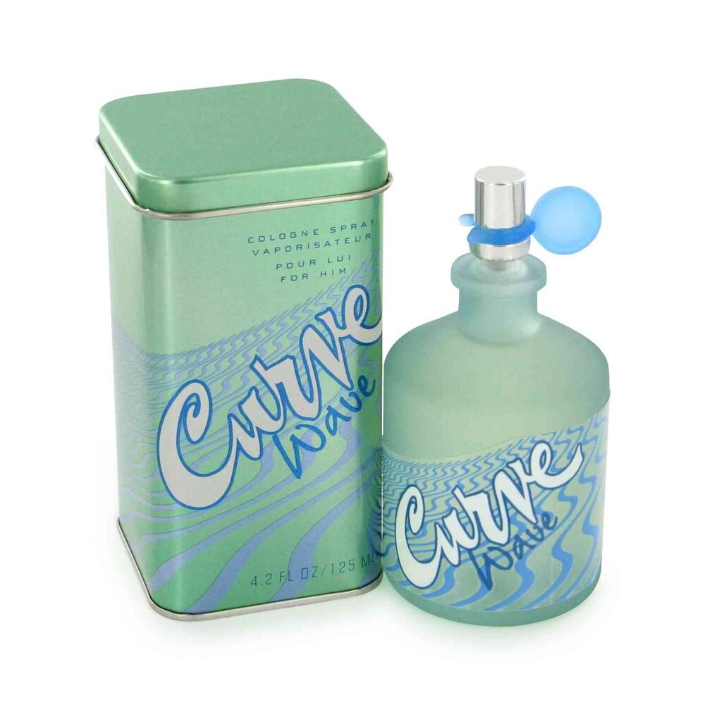 Liz Claiborne Curve Wave (Blue) Men's 4.2-ounce Cologne S...