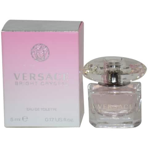 Bright Crystal/Versace Edt Mini 0.17 Oz (5.0 Ml) Women'S