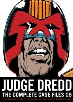 Judge Dredd 6: The Complete Case Files (Paperback)