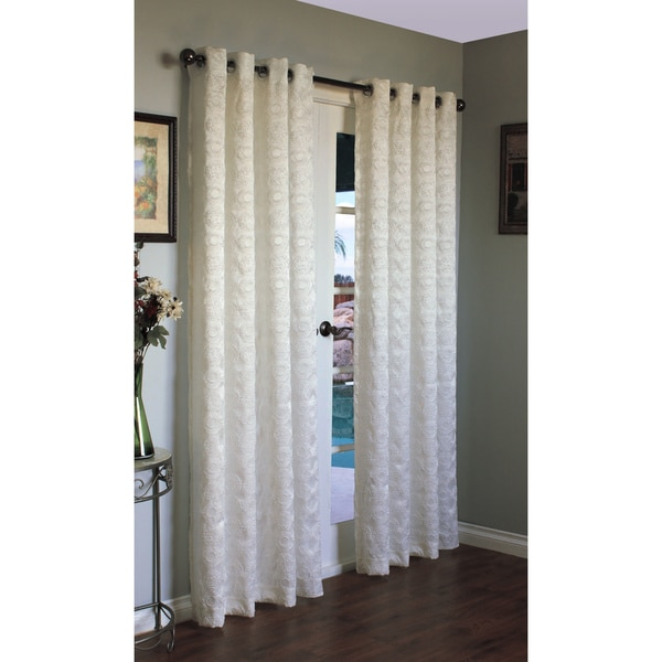 Mayan Woven 84-inch Curtain Panel Pair