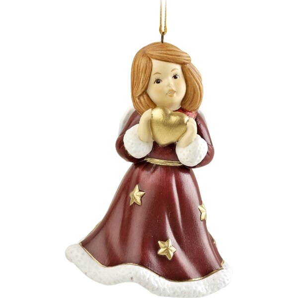 Goebel 2011 'Angel Bell' Porcelain Ornament