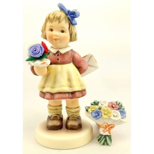 M I Hummel 'For Mommy' Porcelain Figurine
