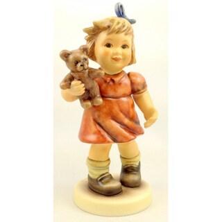 M I Hummel 'Shall we Dance' Porcelain Figurine