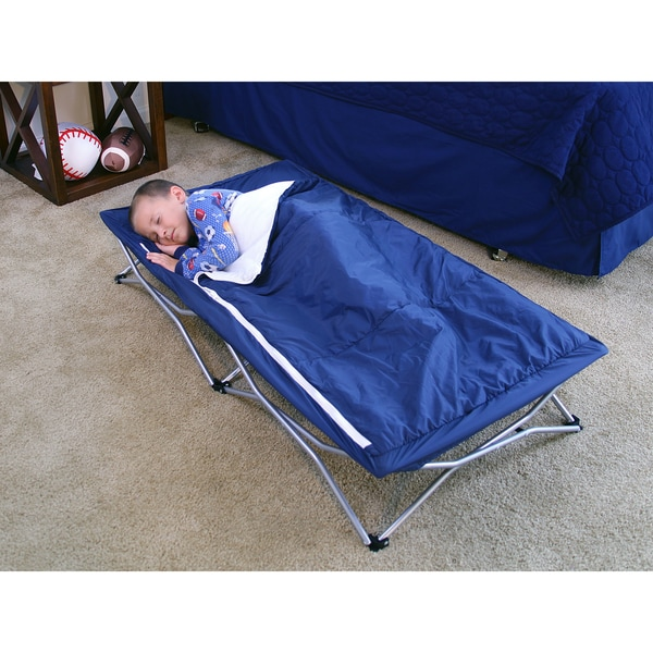 Shop Regalo My Cot Deluxe Portable Travel Bed - Blue ...