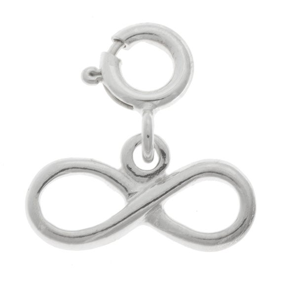 Shop Sterling Silver Infinity Symbol Charm Free Shipping On Orders