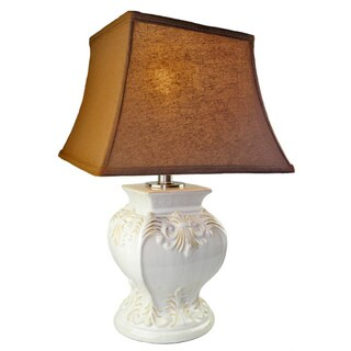 JT LightingCream Ceramic Table Lamp