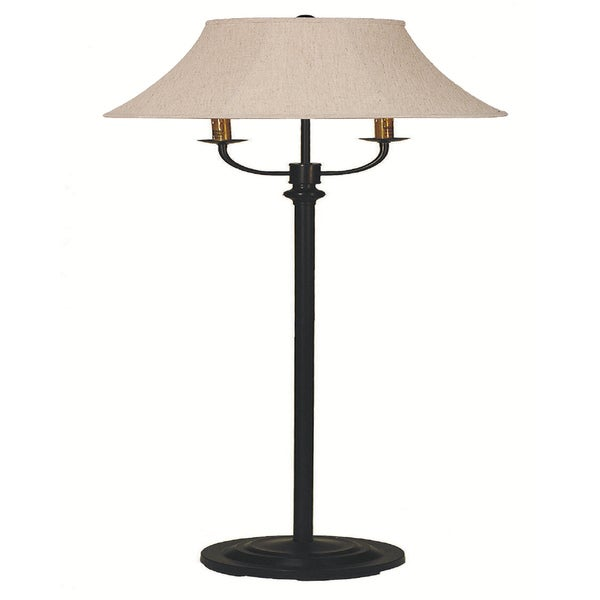 Somette Berea Black Floor Lamp
