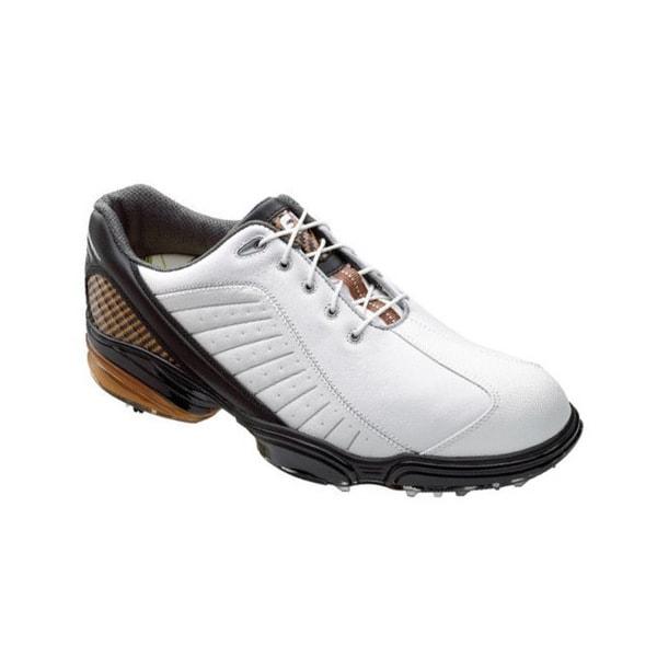FootJoy Men's FJ Sport White/ Black/ Bronze Golf Shoes