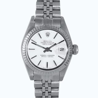 Pre-Owned Rolex Midsize Women's Stainless-Steel Datejust Mechanical Watch