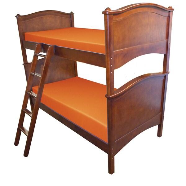 Select Luxury Reversible 6-inch Orange Bunk Bed Twin-size Foam Mattress