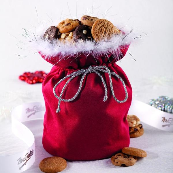 Mrs. Fields Bite-sized Cookie Santa Sack