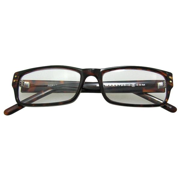 M by Max Studio Men's Tortoise Reading Glasses