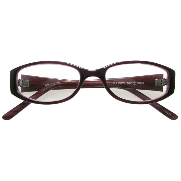 Max Studio Purple Reading Glasses
