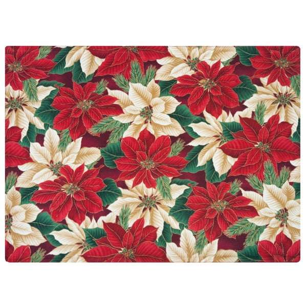 Crimson Placemat by Rose Tree 'Christmas Evergreen' Placemats (Set of 6)