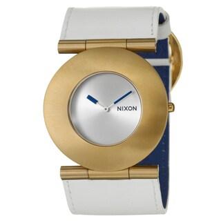 Nixon Women's Yellow Gold-plated 'Superior' Watch