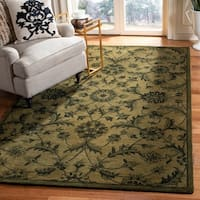 Safavieh Handmade Antiquities Olive Green Wool Rug