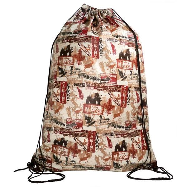 Tango 'Cabin-in-the-Woods' Laundry Duffel Bag