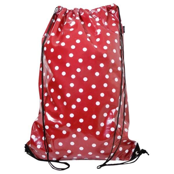Tango 'Red/ White Polka Dot' Laundry Duffel Bag