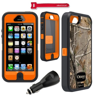 OtterBox Defender Apple iPhone 5 Realtree Case / 2000 mAh Car Charger