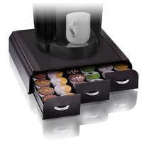 Mindreader 3-drawer Black K-cup Coffee Holder