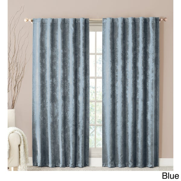 VCNY Mallory Shimmer Back-tab 84-inch Window Panel