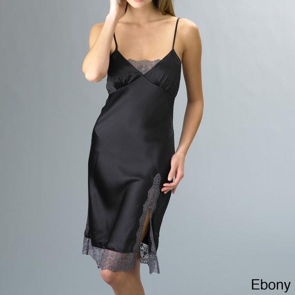 Julianna Rae Women's Dream Silk Short Nightgown