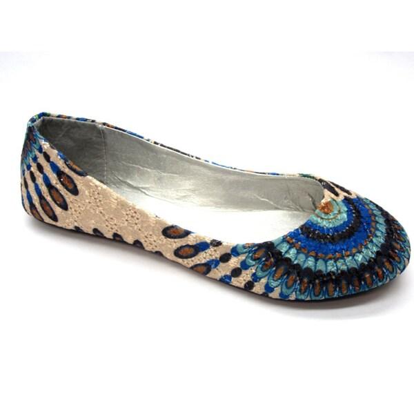 Blue Women's 'Dash' Flats
