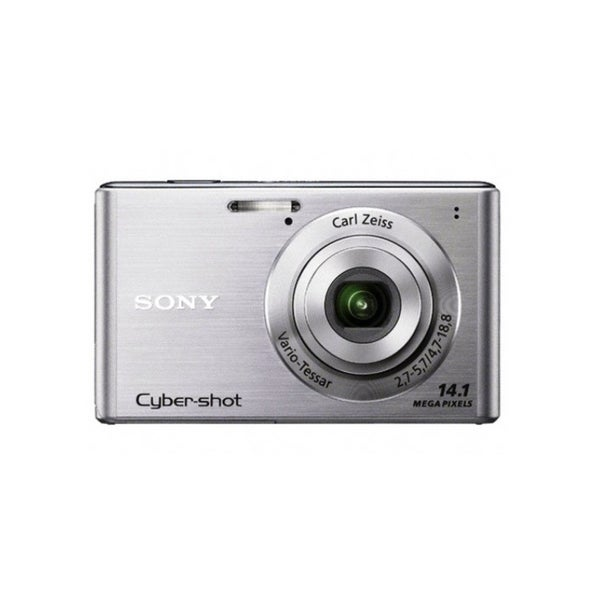 Sony Cyber-Shot DSC-W550 14.1MP Silver Digital Camera (Manufacturer Refurbished)