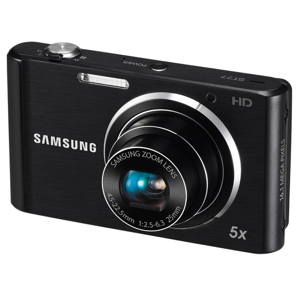 Samsung ST77 16.1MP Black Digital Camera
