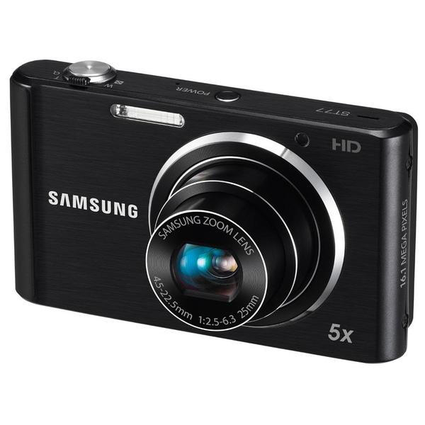 Samsung ST77 16.1MP Black Digital Camera