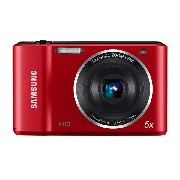 Samsung ES90 14.2MP Red Digital Camera