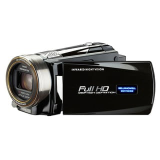 Bell + Howell Rogue DNV16HDZ-BK Full 1080p HD Night Vision Digital Video Camcorder