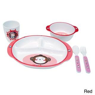 Children's Monkey 5-piece Dinner Set