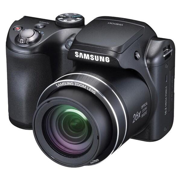 Samsung WB100 16.2 Megapixel Compact Camera - Black