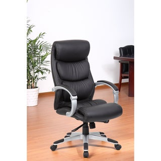 Aragon Hinged Arm Executive Chair with Synchro-Tilt